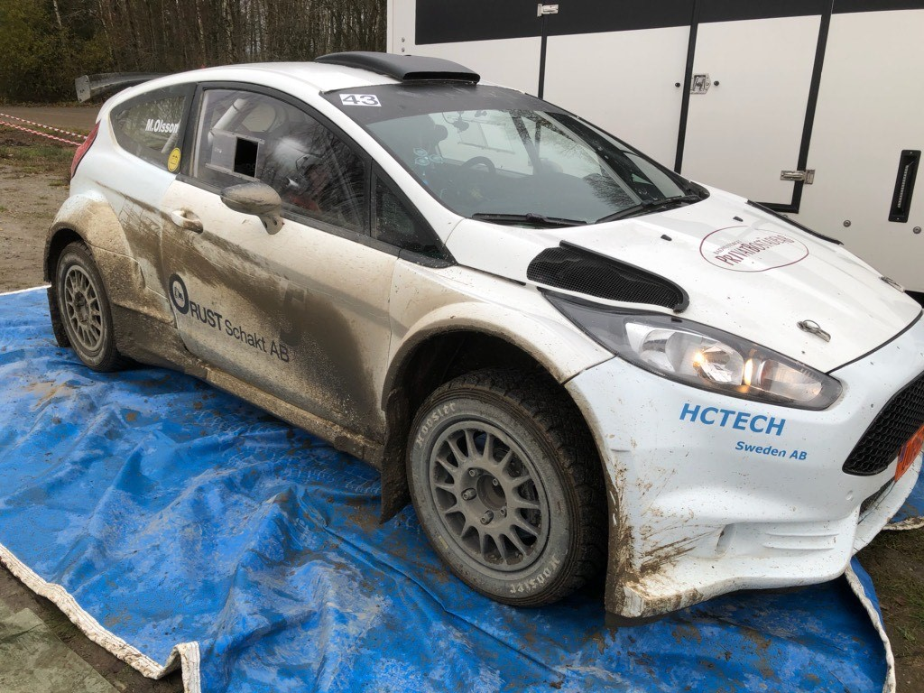 Mattias Olsson - Ford Fiesta Hoosier Rally Tires