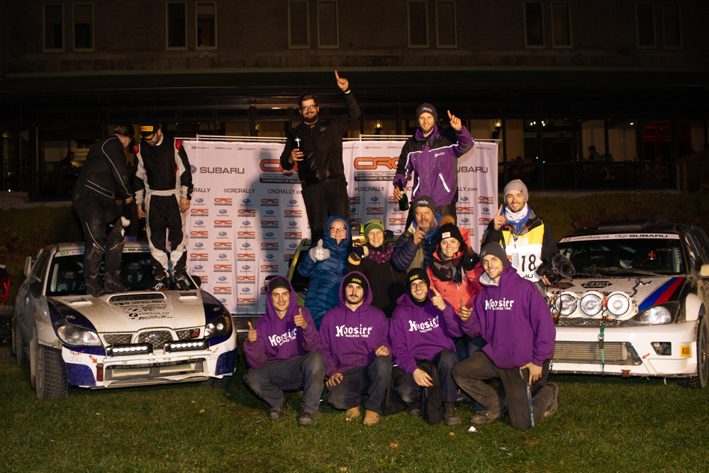 Laverdière Rally Team Wins at Charlevoix